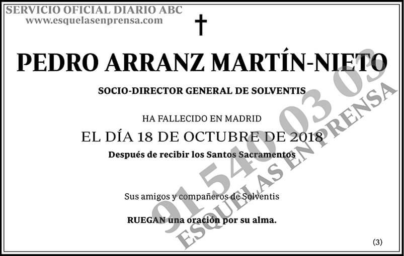 Pedro Arranz Martín-Nieto